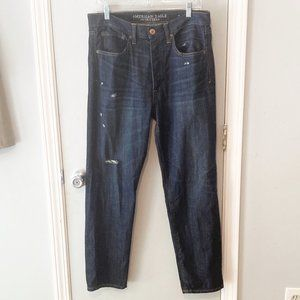 American Eagle Tomboy Distressed Jeans Size 6